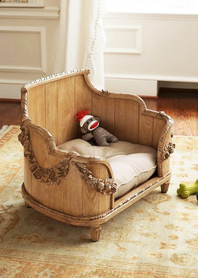 Царская кроватка для собачки