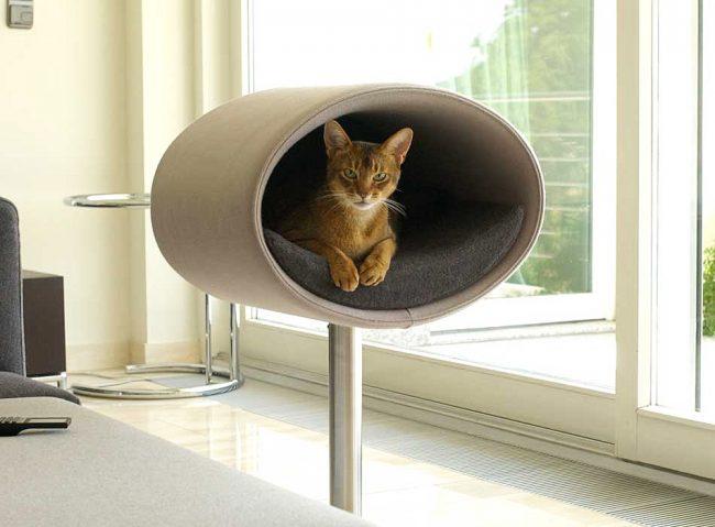 Современный и функциональный домик для кошек