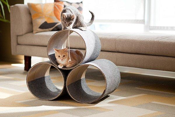 Домик-одеяло для кошек своими руками