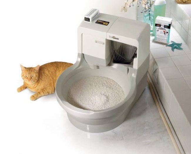 Автоматический туалет для кошек