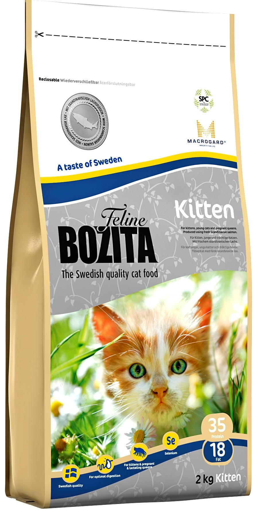 Питание для котят