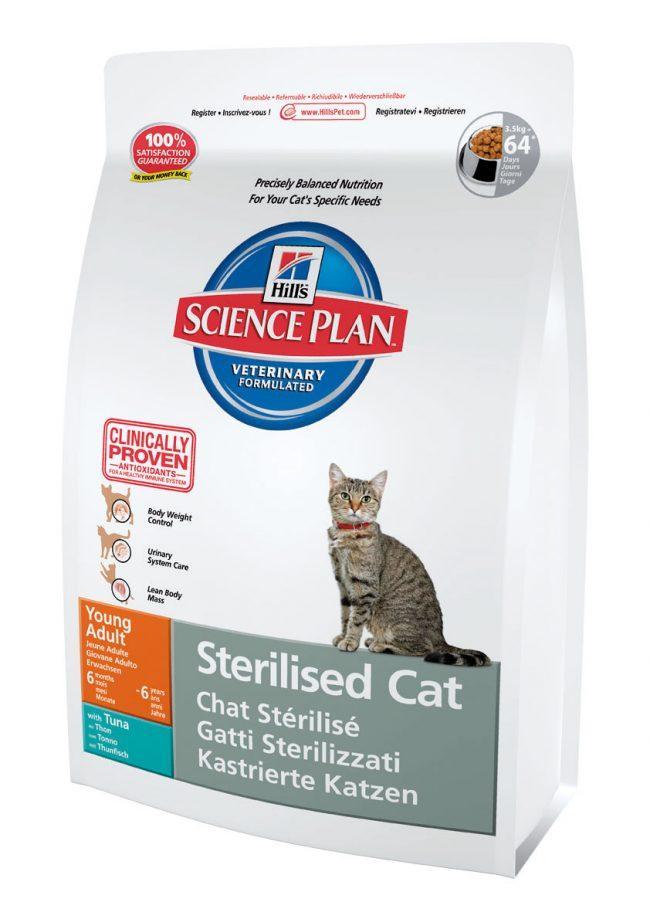 Сухой корм для кастрированных котов