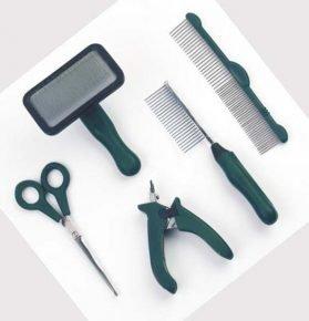 Расчёски и ножницы для собак