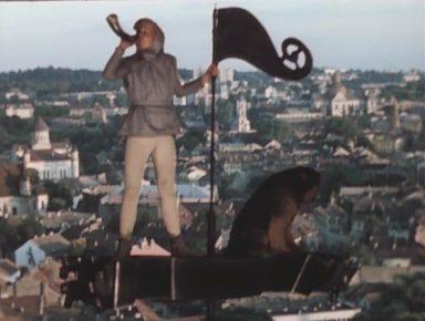 Кадр из кино «Приключения Электроника»