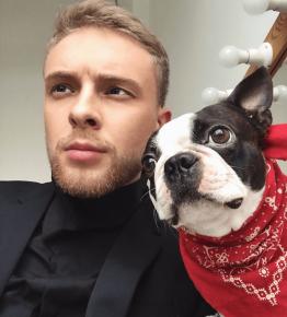 Крид с собакой