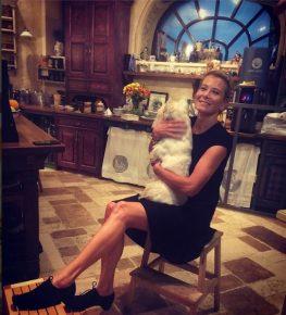 Юлия со своей собакой