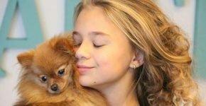 Какая собака у Кати Адушкиной