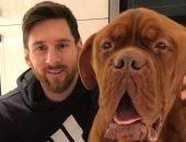Какая собака у Месси