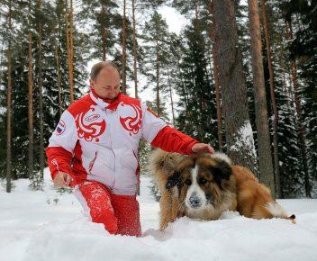 Какая собака у Путина