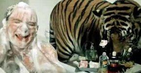Тигр Пурш и Евгений Леонов