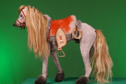 Безумная стрижка собаки под лошадку