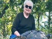 Бабушка из Техаса застрелила крокодила одним выстрелом