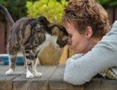 Через 13 лет кошка нашла свою хозяку