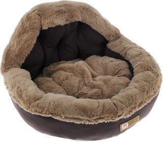 пушистый лежак для собаки