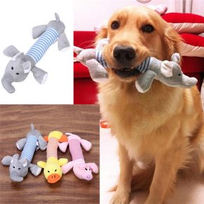 Собака с пищалкой в зубах