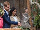 Принц Гарри и Меган Маркл посетили зоопарк в Сиднее