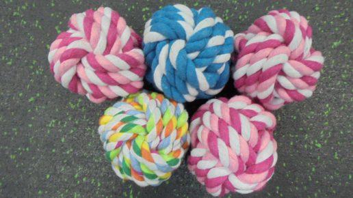 Мячик из верёвки