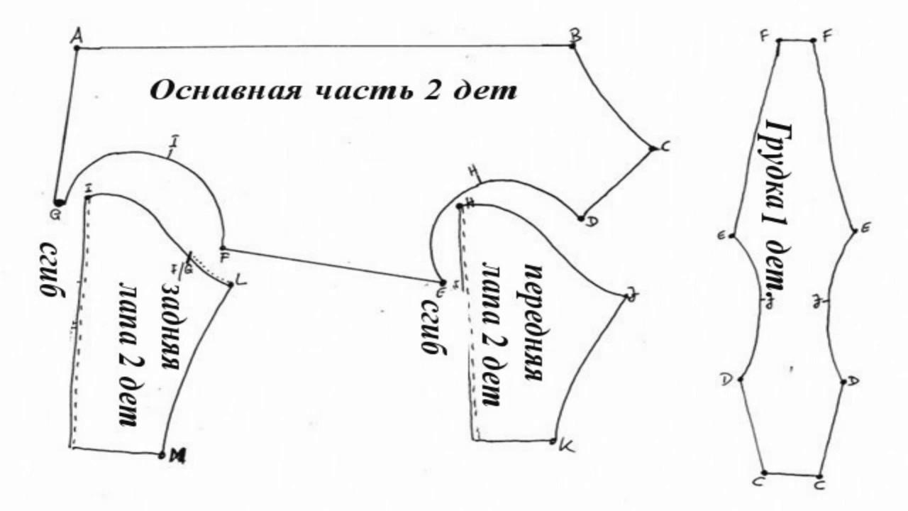 Комбинезон йорку своими руками пошаговая инструкция фото 568