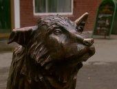 Пса из Челябинска увековечили в бронзовой статуе
