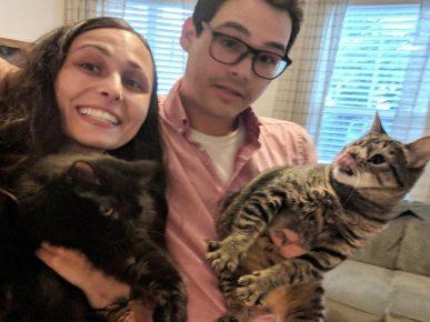 Майя с новой и любящей семьёй
