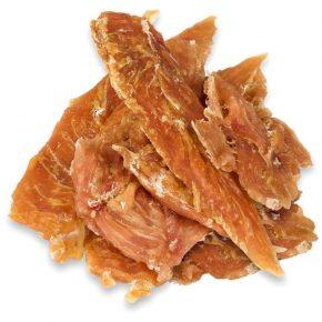 Сушёные полоски из мяса для собаки
