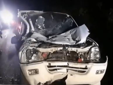 58-летнего водителя нашли мёртвым в раскуроченном автомобиле