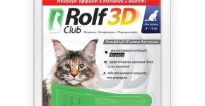 Капли Рольф Клуб для кошек