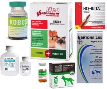 Ковертал и другие ветеринарные препараты