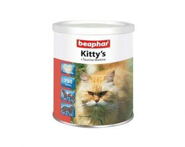 Витамины для кошек с таурином и биотином