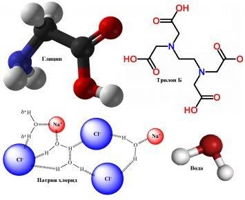 Структурные формулы компонентов Имунофана