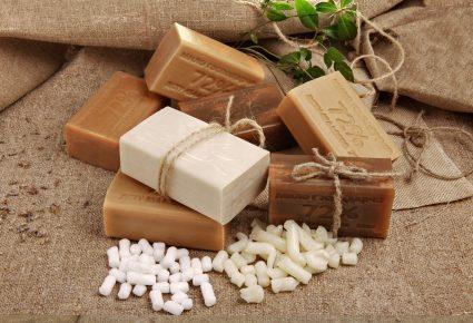 Обычное хозяйственное мыло