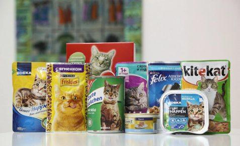Корма экономкласса для кошек