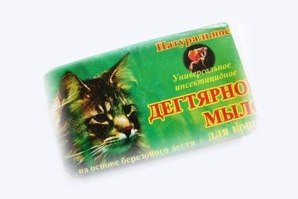 Мыло от блох для кошек