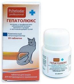 Таблетки Гепатолюкс