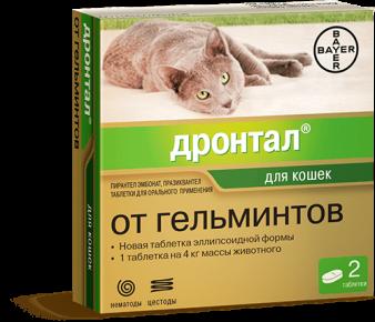 Упаковка препарата Дронтал