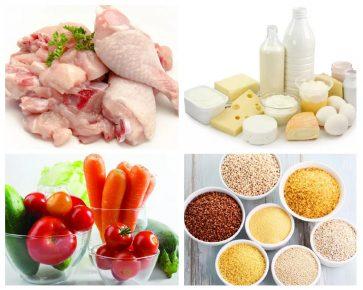 Продукты, которые можно использовать при натуральном кормлении кошки
