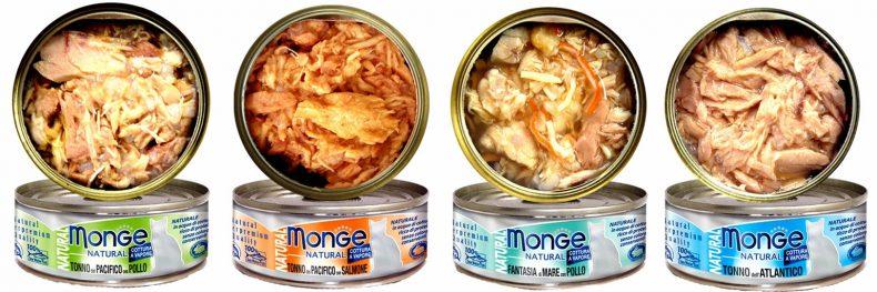 Влажные корма Monge