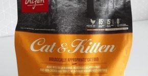 Упаковка корма Orijen Cat & Kitten