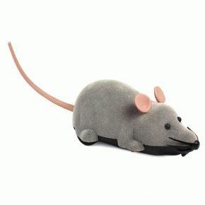 Подвижная игрушечная мышь
