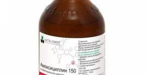 Амоксициллин 150 от ООО «НИТА-ФАРМ»