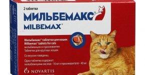 Мильбемакс для крупных кошек в упаковке