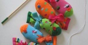 Рыбки из носков