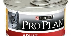 Влажный корм для взрослых кошек ProPlan