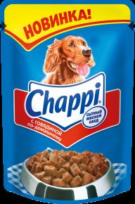 Чак на обложке корма «Чаппи»