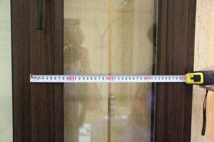 Разметка двери под аксессуар