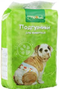 Подгузники для домашних животных Triol