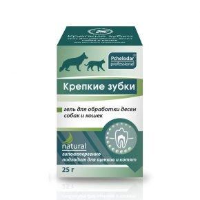 Крепкие зубки гель для собак и кошек