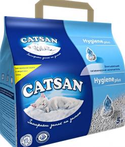 Catsan впитывающий для котят в упаковке