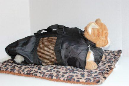 Фиксирующая сумка для кошек