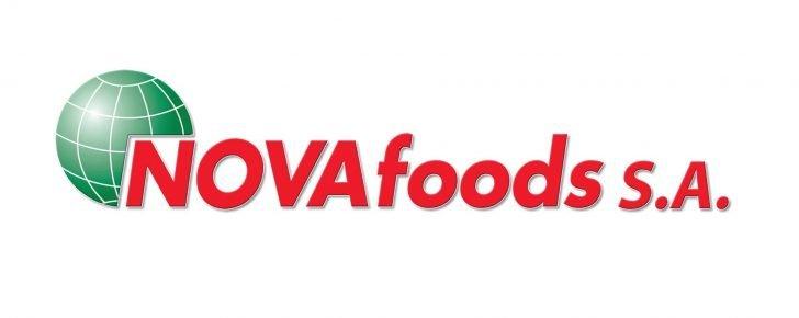 Официальный логотип компании Novafoods